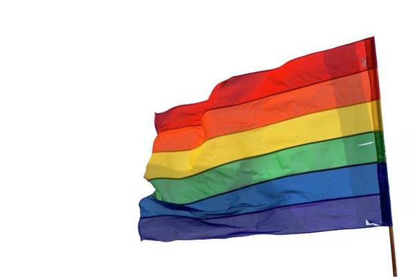 Gay Pride Flag Photograph - Rainbow Flag by Photostock-israel/science Photo Library