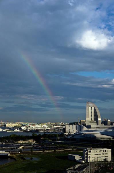 Kanagawa Wall Art - Photograph - Rainbow In Yokohama by Motodan