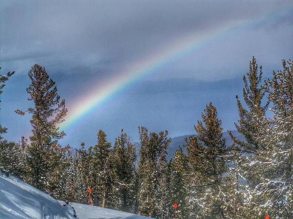Photograph - Rainbow Over Heavenly by Pat Moore