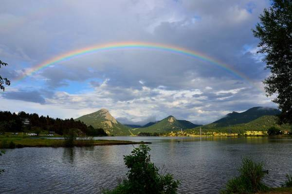 Photograph - Rainbow Over Lake Estes by Tranquil Light  Photography