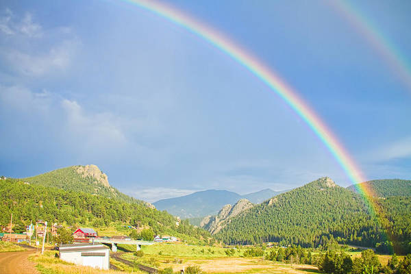 Photograph - Rainbow Over Rollinsville by James BO Insogna
