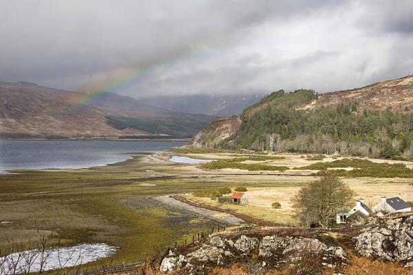 Photograph - Rainbow Over The Loch by Susan Leonard