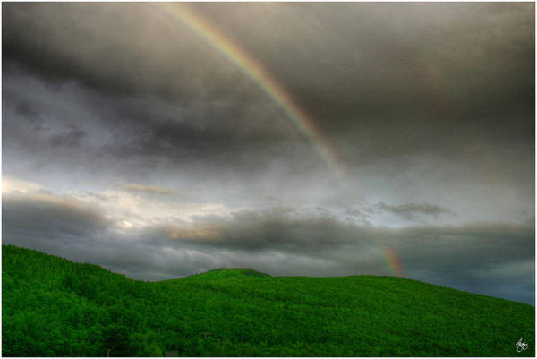 Photograph - Rainbow Over The Mahoosucs by Wayne King