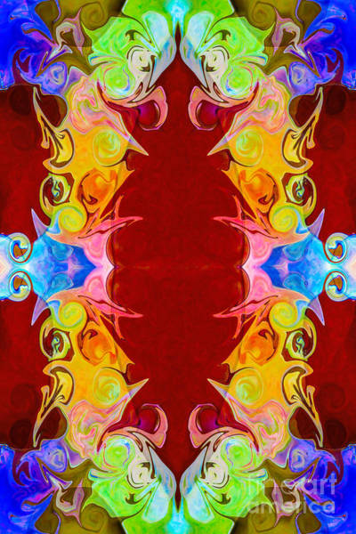 Photograph - Rainbow Reminders Of Life Abstract Pattern Artwork By Omaste Wit by Omaste Witkowski
