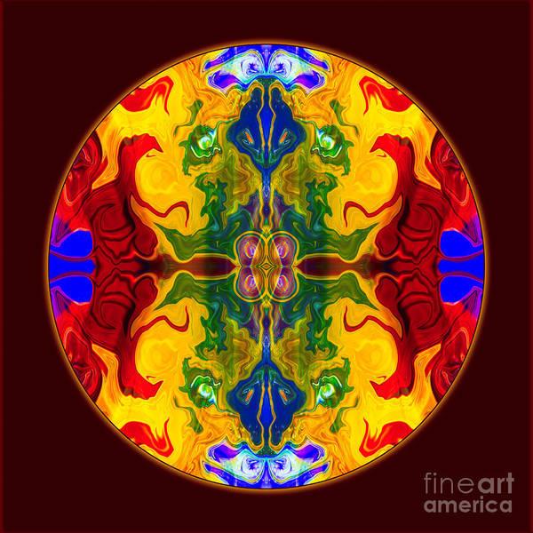 Digital Art - Rainbow Revelations Abstract Mandala Artwork By Omaste Witkowski by Omaste Witkowski
