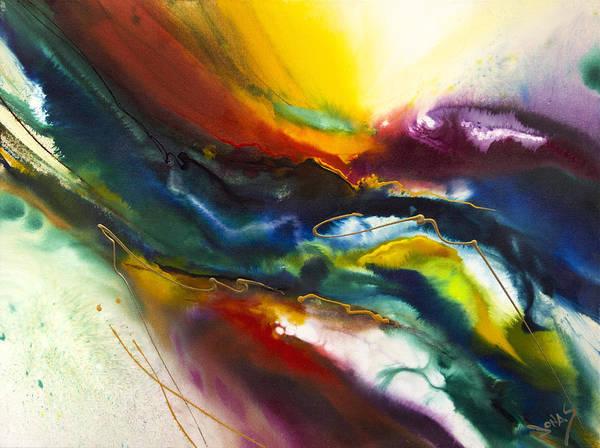 Wall Art - Painting - Rainbow River by Jonas Gerard
