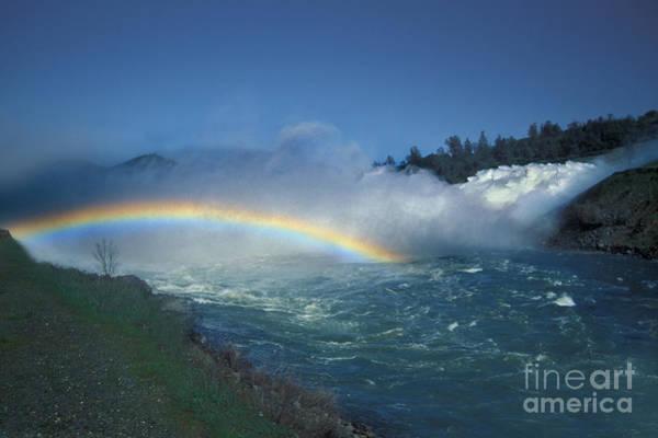 Spillway Photograph - Rainbow by Ron Sanford