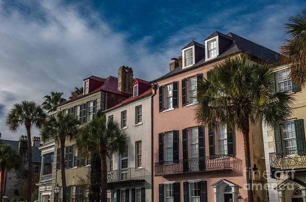 Photograph - Rainbow Row In December by Dale Powell