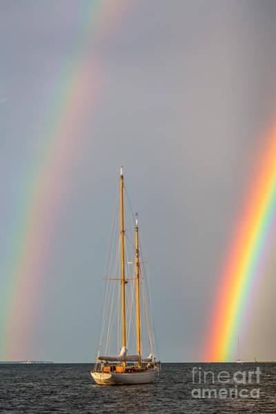Photograph - Rainbow Sail by Susan Cole Kelly