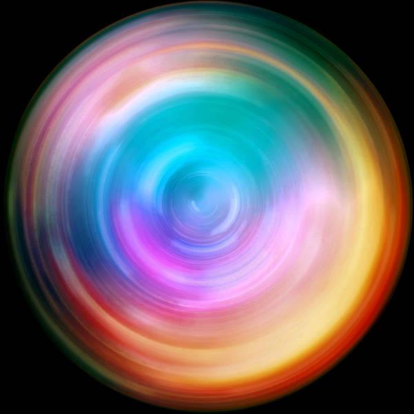Wall Art - Photograph - Rainbow Spin Art by Jennifer Rondinelli Reilly - Fine Art Photography
