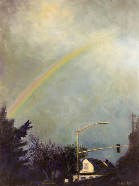 Painting - Rainbow by Susan Moore