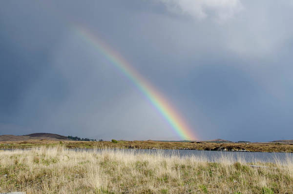 Connemara Photograph - Rainbow The Connemara Co. Galway Ireland by M Timothy O'keefe