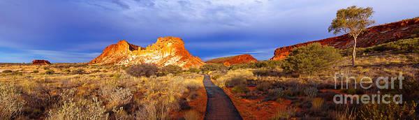 Central Australia Photograph - Rainbow Valley Central Australia by Bill  Robinson