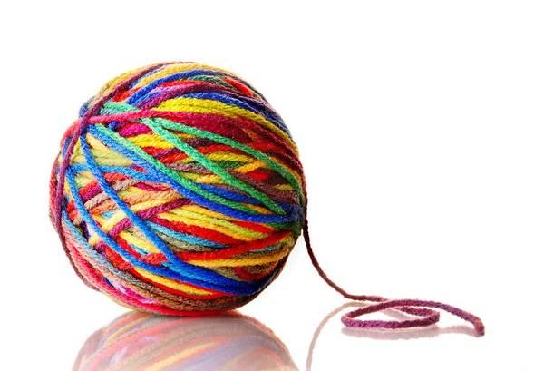 Photograph - Rainbow Yarn by Jim Hughes
