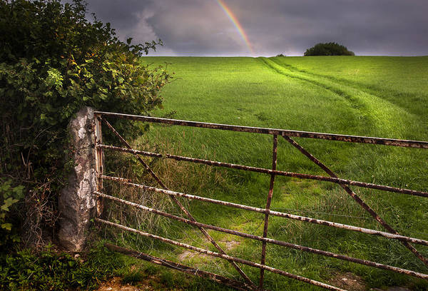 Wall Art - Photograph - Rainbow's End by Mal Bray