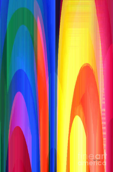 Digital Art - Rainbows by Rafael Salazar