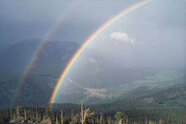 Wall Art - Photograph - Rainbows, Rocky Mountain National Park by James Steinberg