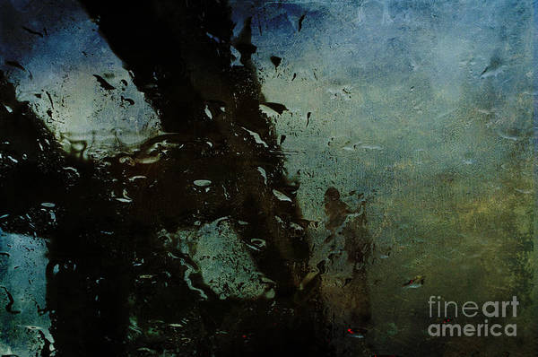 Photograph - Rainful Abstract by Terry Rowe
