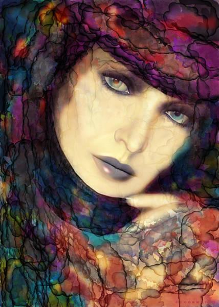 Thought Digital Art - Raining Rainbows by Shanina Conway