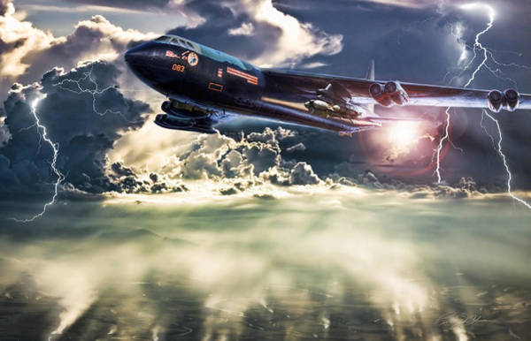 United States Air Force Digital Art - Rainmaker by Peter Chilelli