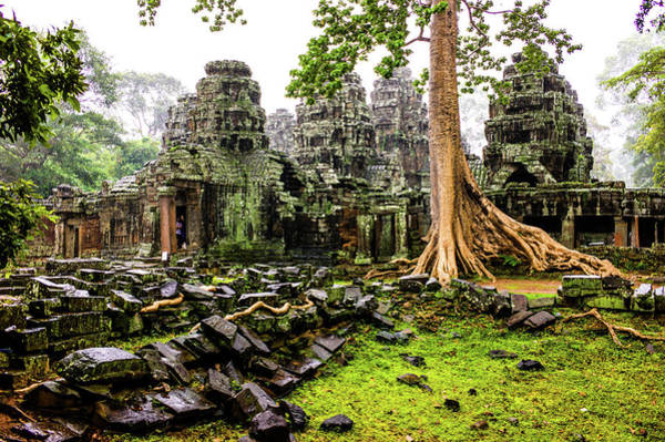Cambodian Photograph - Rainny Siem Reap by Phg Voyager