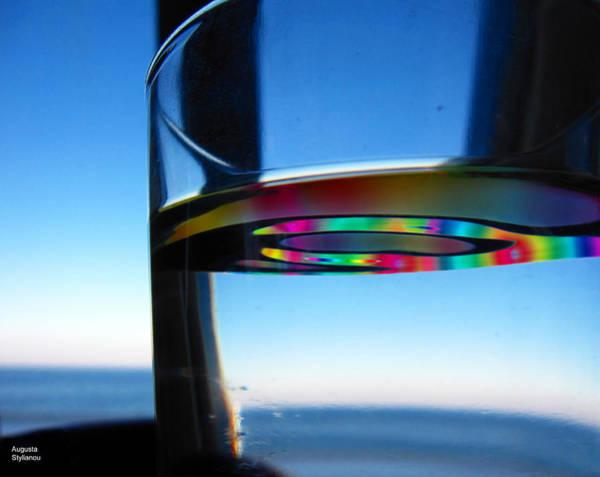 Digital Art - Rainow In The Glass by Augusta Stylianou