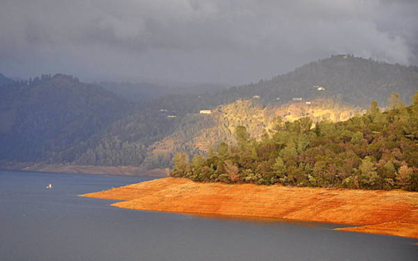 Photograph - Rainstorm On The Lake by AJ  Schibig