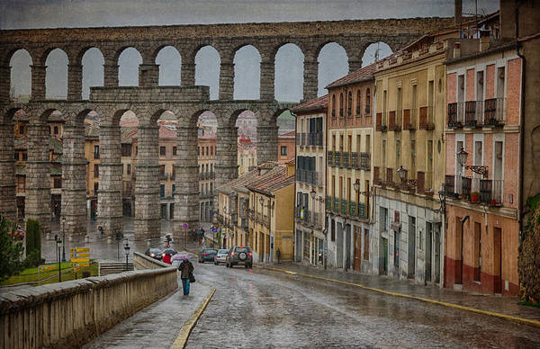 Photograph - Rainy Afternoon In Segovia by Joan Carroll