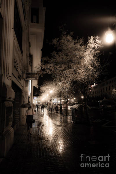 Photograph - Rainy City Streets  by Peter Noyce