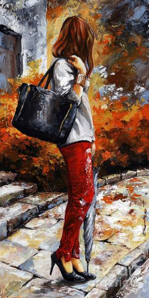 Wall Art - Painting - Rainy Day - After The Rain II by Emerico Imre Toth