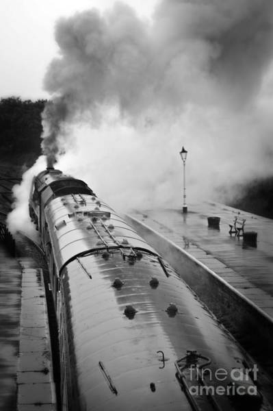 Photograph - Rainy Day Departure by David Birchall