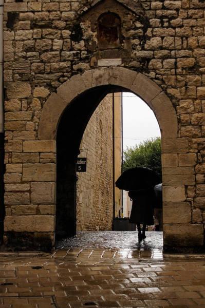 Wall Art - Photograph - Rainy Day In Provence France by Georgia Mizuleva