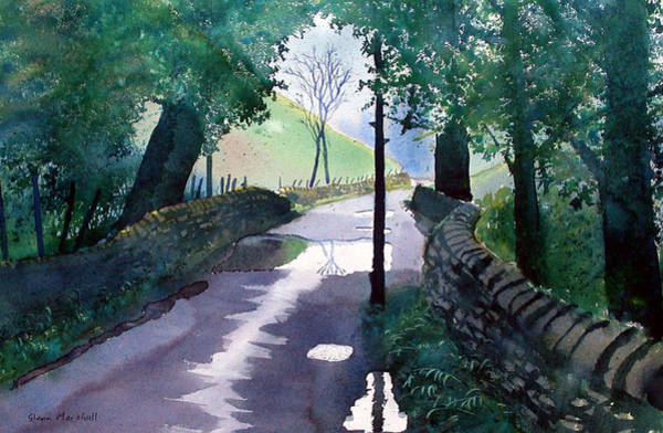 Painting - Rainy Day In The Yorkshire Dales by Glenn Marshall