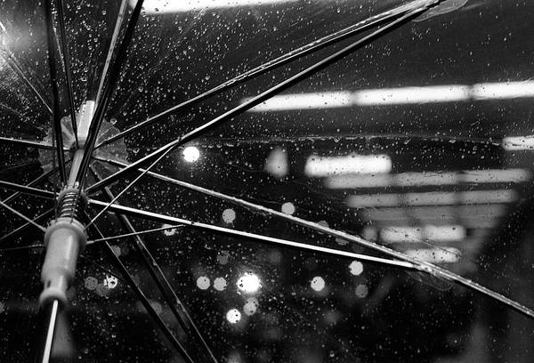 Drops Of Water Wall Art - Photograph - Rainy Departures by Phuong Nguyen