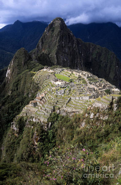Photograph - Rainy Season At Machu Picchu by James Brunker
