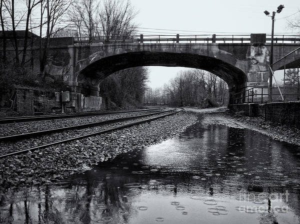 Photograph - Rainy Sunday At Landing Station by Mark Miller