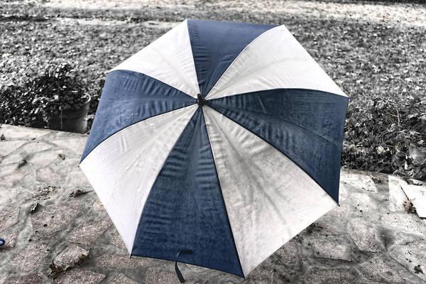 Photograph - Rainy Umbrella by Sharon Popek