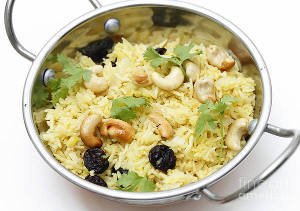 Photograph - Raisin And Cashew Pilaf by Paul Cowan