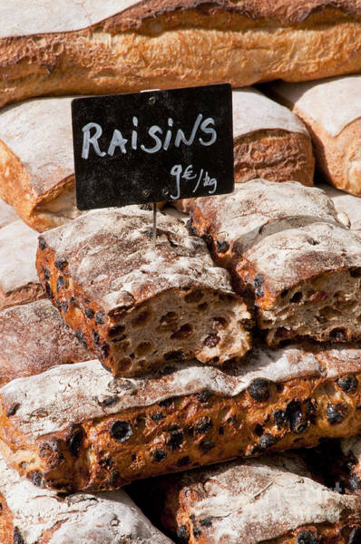 Lourmarin Photograph - Raisin Bread by Bob Phillips