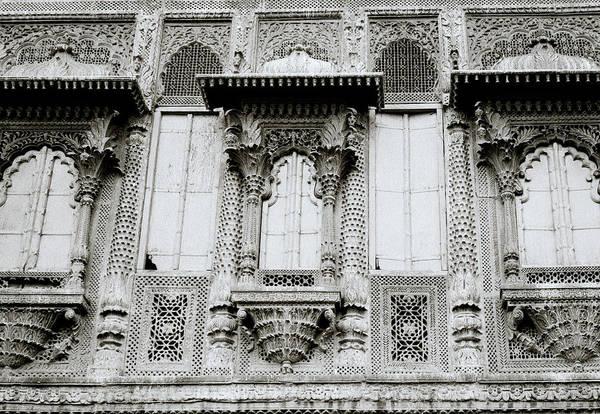 Wall Art - Photograph - Rajput Architecture by Shaun Higson