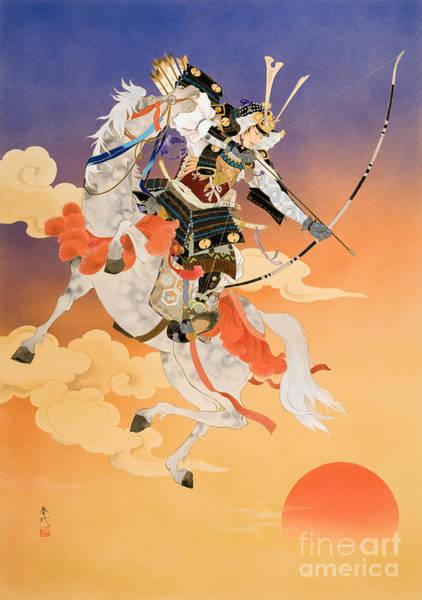 Courage Digital Art - Rakujitsu by MGL Meiklejohn Graphics Licensing