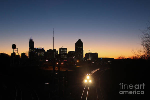 Nc State Wall Art - Photograph - Raleigh Train At Dawn II by Robert Yaeger