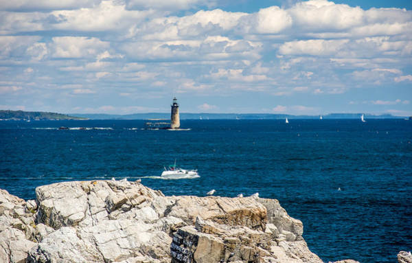Photograph - Ram Island Ledge Light 7p00215 by Guy Whiteley