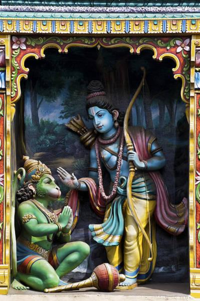 Yogic Wall Art - Photograph - Rama And Hanuman  by Tim Gainey
