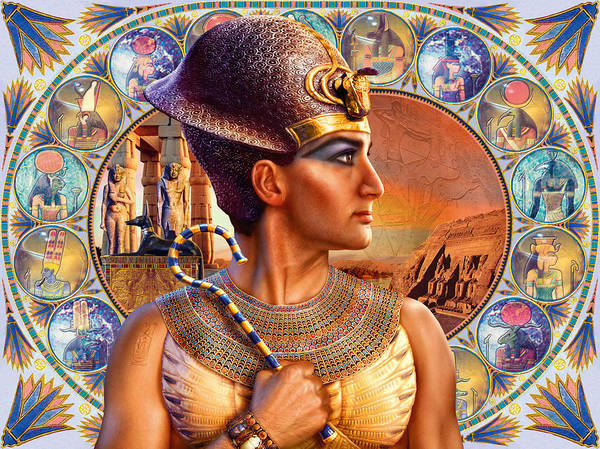 Andrew Farley Photograph - Rameses II by MGL Meiklejohn Graphics Licensing