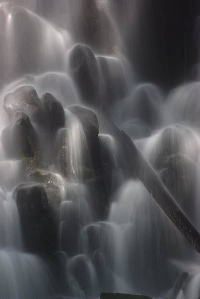 Photograph - Ramona Falls Detail 1 by Ken Dietz