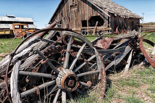 Wall Art - Photograph - Ranch Wagon by Kathleen Bishop