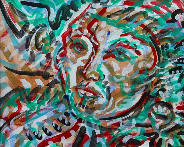 Ranchera Wall Art - Painting - Ranchera by Jimmy Longoria