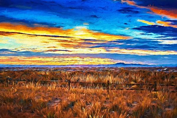 Photograph - Ranchito Sunset Lx  by Charles Muhle