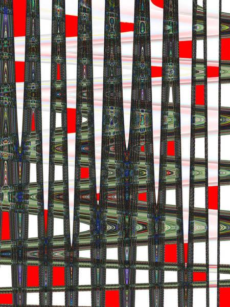 Digital Art - Random Red by Philip Brent